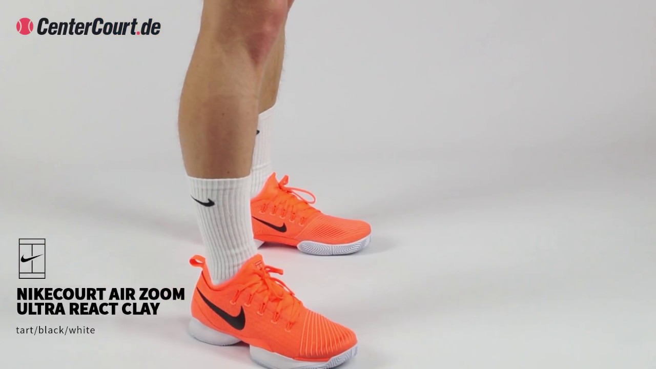 c885f1c4aba2e3 Nikecourt Air Zoom Ultra React Clay - YouTube