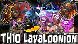 AIR IS BACK! - TH10 LavaLoonion Raids Post Xmas Update - Clash of Clans