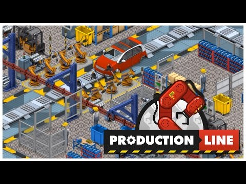 Production Line [Alpha] - Compact Car - Let's Play / Gameplay / Beverage