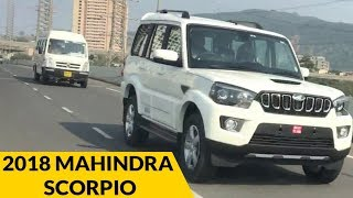 2018 Mahindra Scorpio Spied   2017 Mahindra Scorpio Facelift