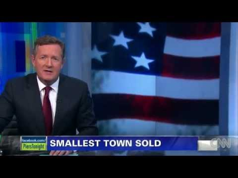 Only in America Piers Morgan on Buford, Wyoming, Pop. 1 SOLD