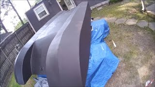 homemade plywood jet boat pt 12 body prep and paint