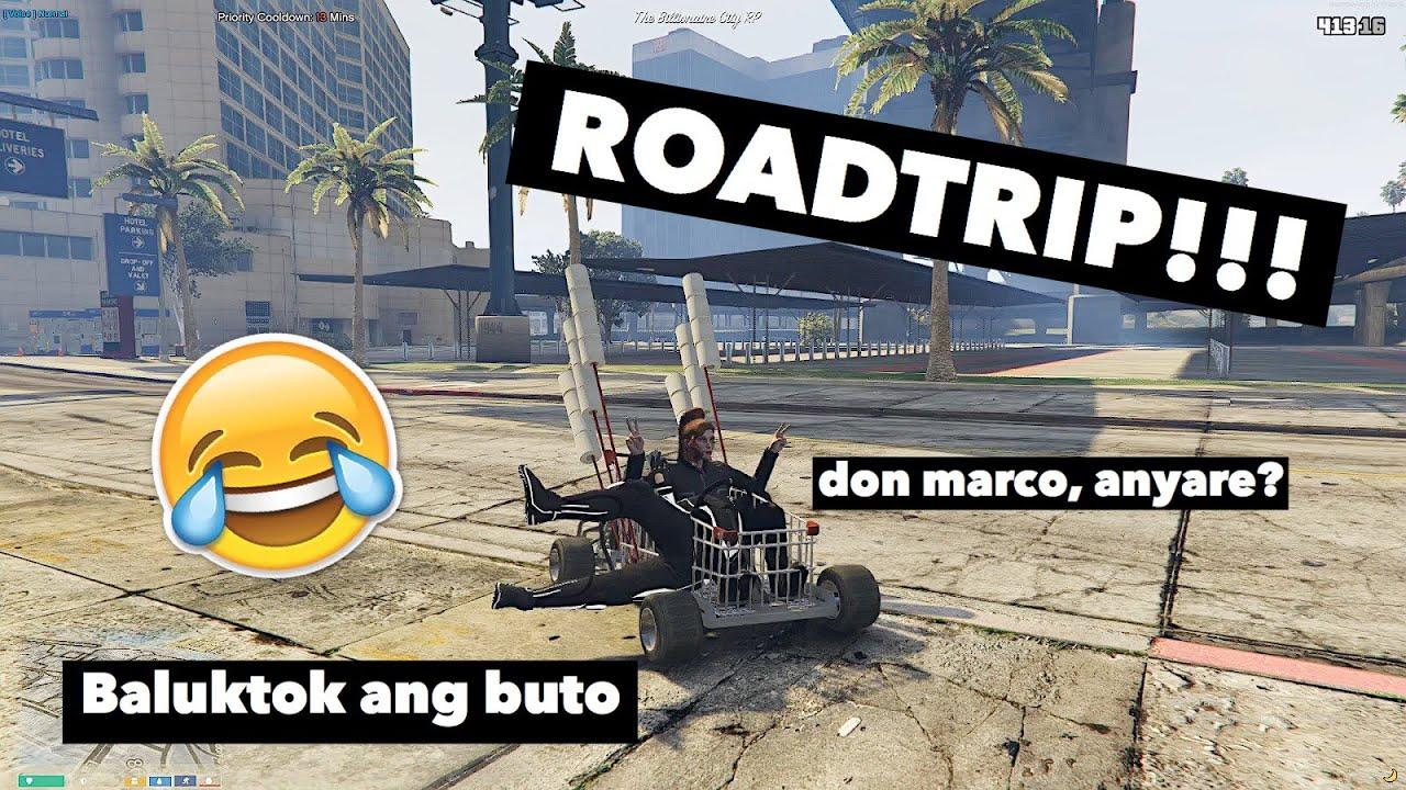 SHOPPING GO KART ROADTRIP WITH DON MARCO | GTA V RP