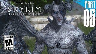 【SKYRIM 200+ MODS】Dark Elf Gameplay Walkthrough Part 5 [PC - HD]