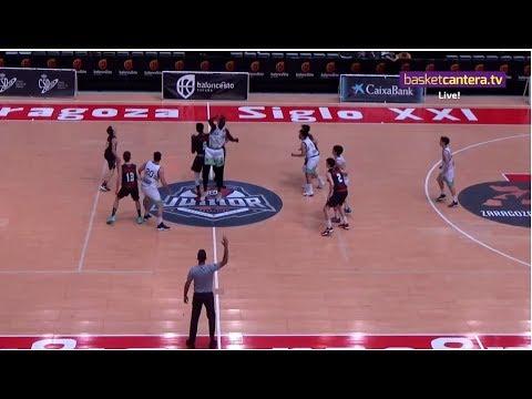 U18M -  CACERES BASKET Vs AZ. MONCAYO CB. ZARAGOZA - Cpto. España Junior 2019 (BasketCantera.TV)