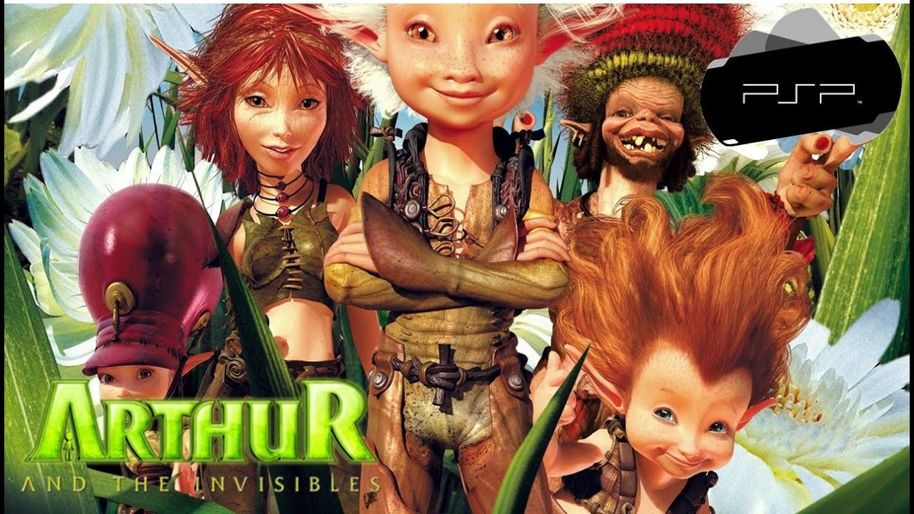 Arthur And The Invisibles Videos For Sony Psp The Video Games Museum