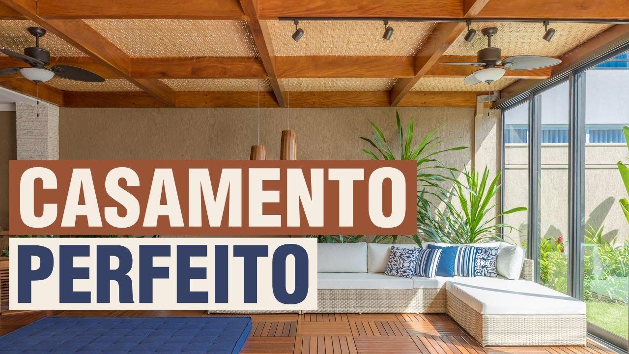pergolado de madeira, jardim no pergolado, forro de bambu, fibras naturais, cobertura, deck, deck modular, mix de estilos, decoração, área de lazer