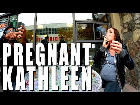DRINKING WHILE PREGNANT PRANK