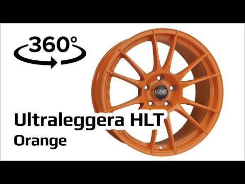 Jante Alu OZ Ultraleggera HLT Orange