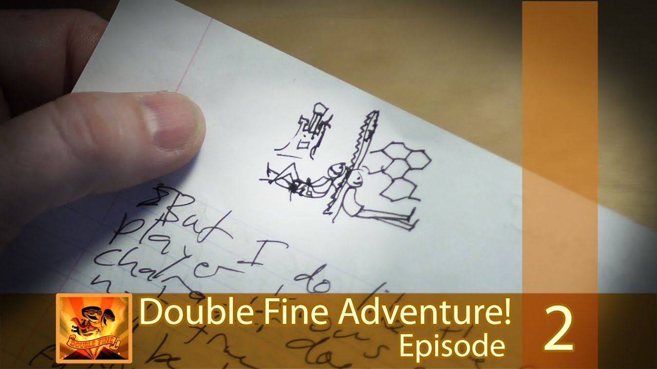 "Double Fine Adventure! EP02: ""A Promise of Infinite Possibility"""