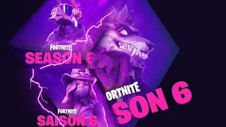 OF THE ANIMALS FOR FORTNITE SAISON 6 - SKIN PALIER 100