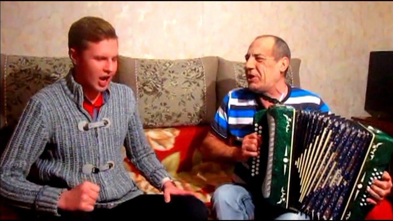Ой, при лужку…Бравурно с непередаваемым куражом! ☀️ ?  Казачья песня под гармонь! Russian folk song!