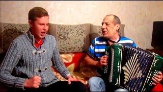 Ой, при лужку…Бравурно с непередаваемым куражом! ☀️ 😊  Казачья песня под гармонь! Russian folk song!