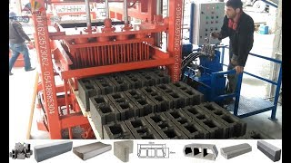 видео Мини завод по производству шлакоблоков станки для производства