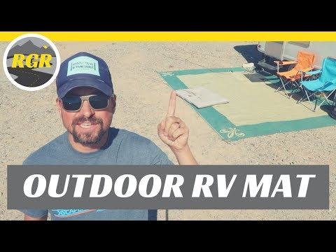 OUTDOOR RV MAT | Product Review | RV Living Full Time & Outdoor Rug