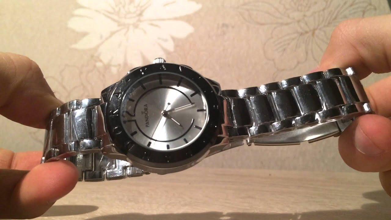 Обзор часов PANDORA DKNY OMEGA с алиэкспресс - YouTube