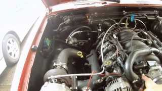 d21 with an LS turbo first test drive