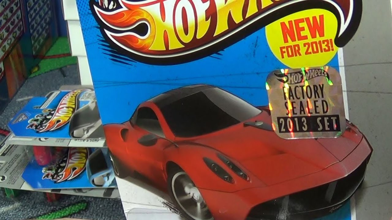 how to get 2018 hot wheels factory sealed set