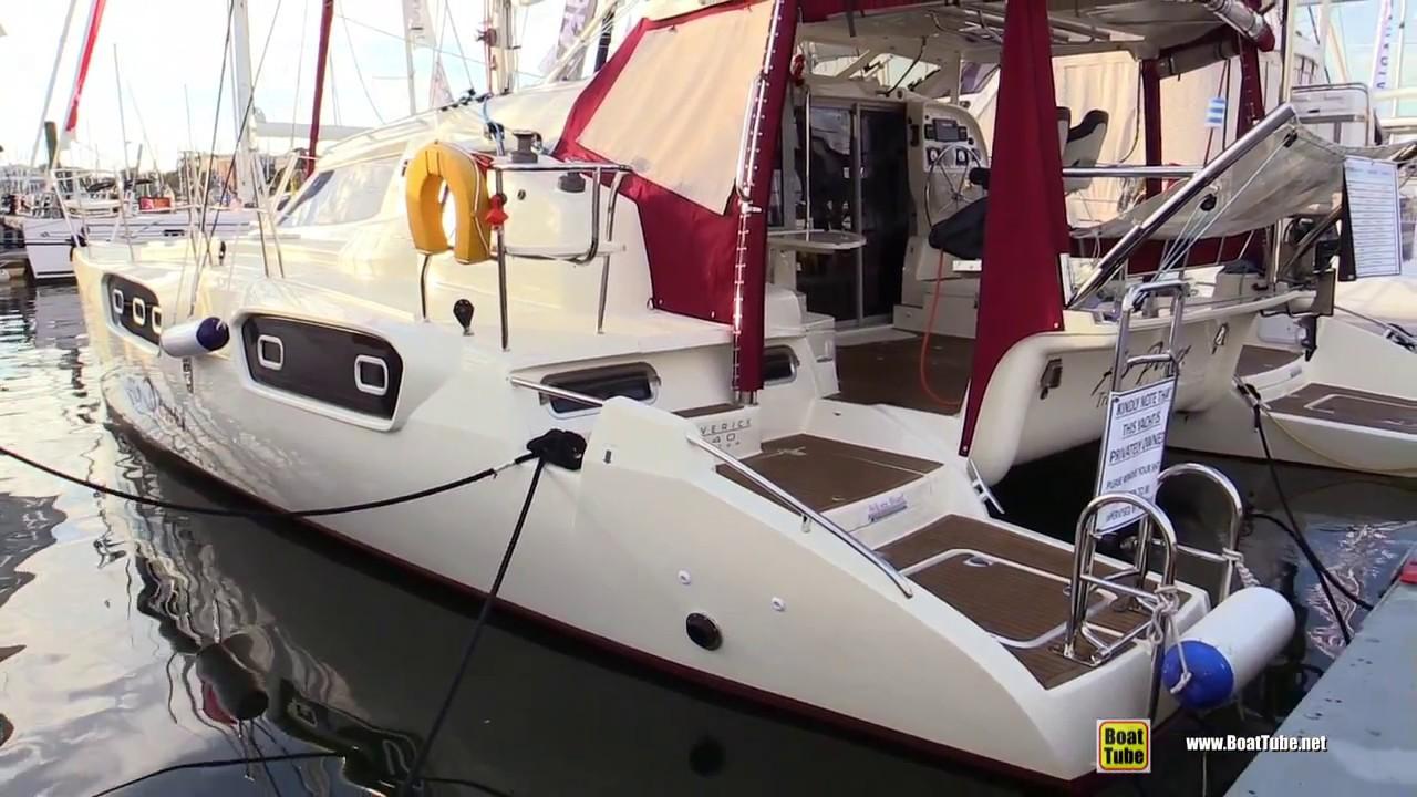 2016 Maverick 440 Catamaran - Quick Walkaround - 2017 ...