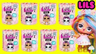 NEW LOL LILS Sister, Brother or Pet With DIY Pastel QT Cupcake Kids Club