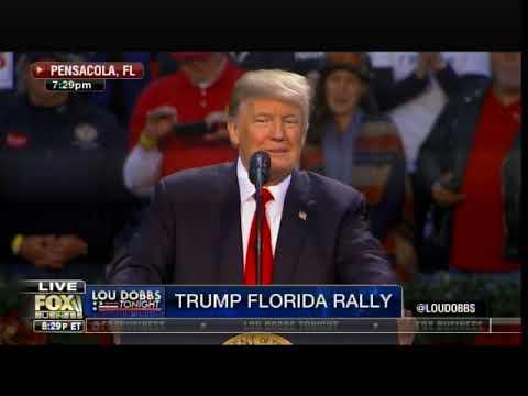 Download Youtube: POTUS Trump Takes Swipe at Deep State Liars at Pensacola Rally
