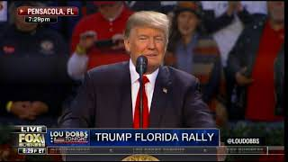POTUS Trump Takes Swipe at Deep State Liars at Pensacola Rally