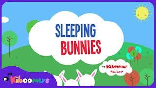 Sleeping Bunnies | Nursery Rhyme | Baby Songs | The Kiboomers