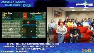 New Super io Bros Wii Live co op run by The Emptyeyes for Awesome ...