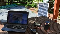 How to build a Solar Laptop Charger for Under $100