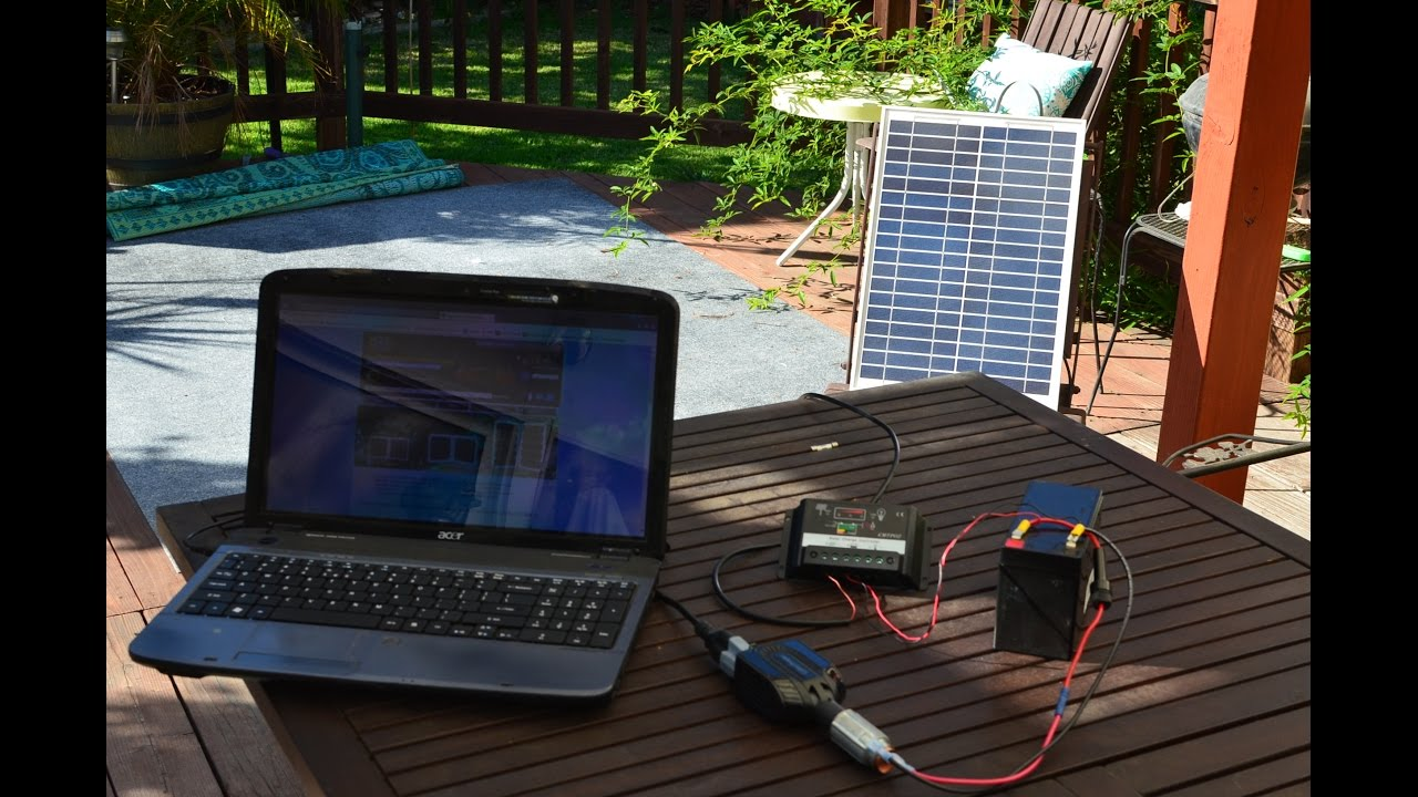 How To Build A Solar Laptop Charger For Under 100 Youtube