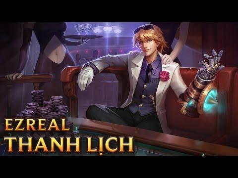 Ezreal Thanh Lịch - Debonair Ezreal - Skins lol