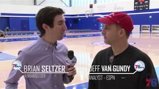 ESPN Philadelphia All Access | Jeff Van Gundy (12.15.17)