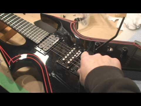B.C. Rich WMD Warbeast Guitar Evaluation and Tweaking
