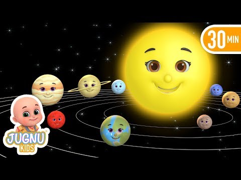 Universe - Planets, solar system - uranus | preschool education Learning for kids  - Jugnu Kids