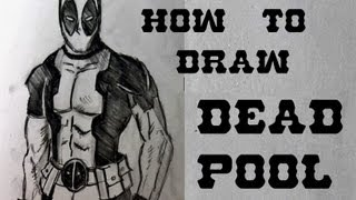 Ep. 31  How to draw Deadpool Part 1 of 2