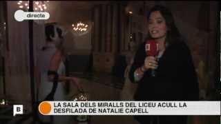 BTV, Connexio BCN 13/12/2012, Gran Teatre del Liceu, Fashion Performance, Natalie Capell Thumbnail