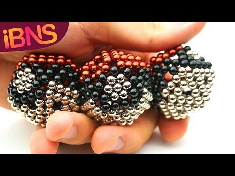 Buckyballs to Pokeballs! Super easy magnet balls tutorial!