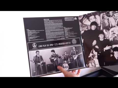 Unboxing Beatles For Sale Vinyl 2012 Reissue