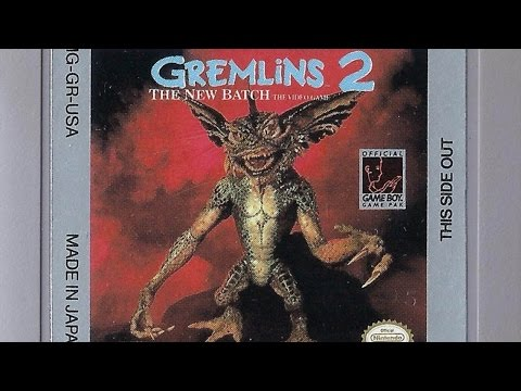 CGR Undertow - GREMLINS 2: THE NEW BATCH review Game Boy