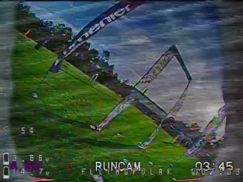*DVR*  Drone Racing With HRB Graphene 4S 1300 LiPo!