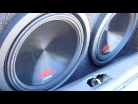 """insane-bass-from-two-12""""-alpine-type-r-(swr12d4)-subwoofers!!"""