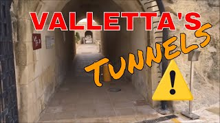 Valletta Tunnels, Auberge Castille, The Royal Opera House, MALTA