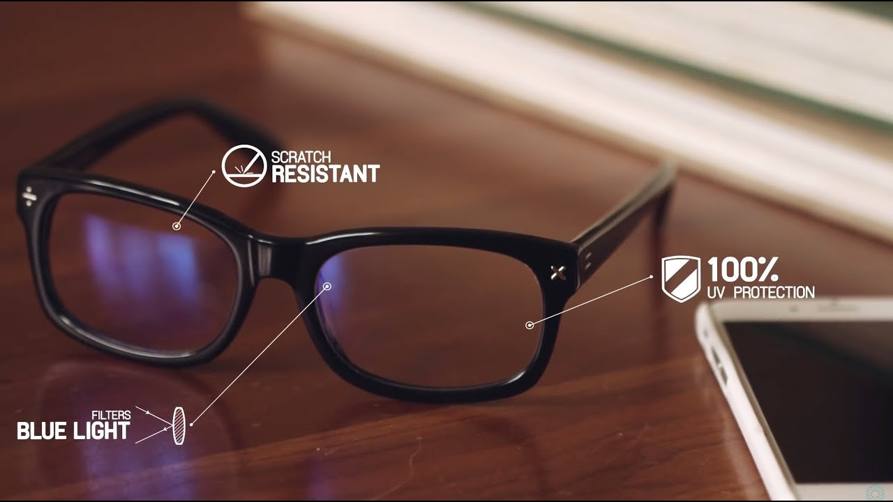 c55201920fe1 Blue Reflect Lenses for protection from Digital Eye Strain - YouTube