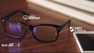Blue Reflect Lenses for protection from Digital Eye Strain