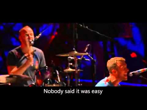Coldplay The Scientist  2012 Stade De France HD With Lyrics