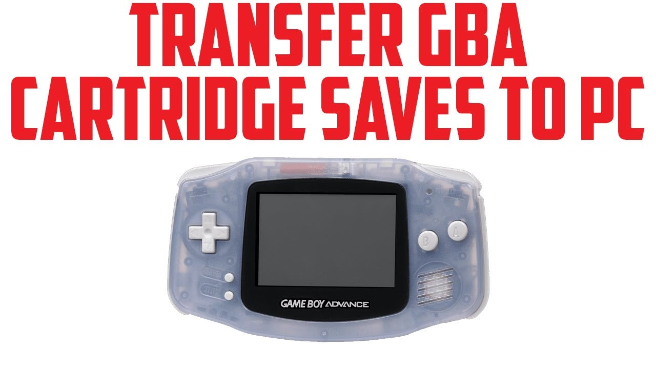 Managing GBA Saves: Using GBA Backup Tool - Saves - Guides and Other