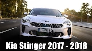 видео Комплектации и цены KIA Stinger 2018