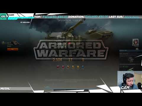 Armored Warfare - 9 Updates später [deutsch][HD] im Livestream getestet !