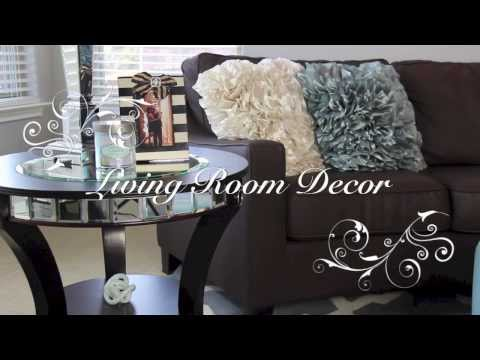 Living Room Decoration Inspiration  - Part 2 - Spring Home Decor - MissLizHeart
