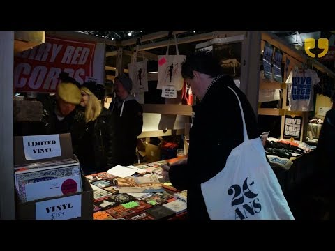 Independent Label Market at Spitalfields by WinkBall